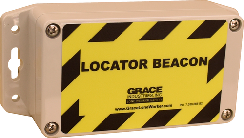 Locator Beacon With External Power Supply
