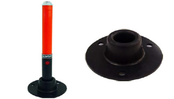 GBBASE: Rubber Base for Glow Baton® or Flare Lite®
