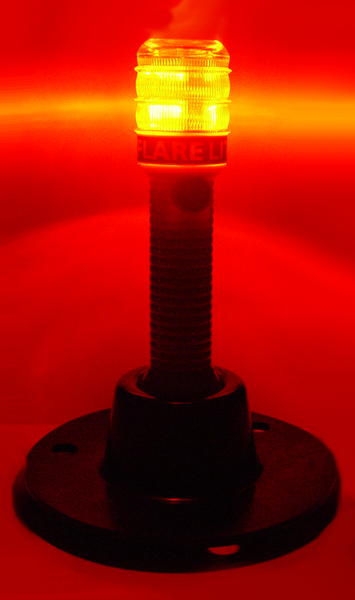 FL-RW: Flare Lite®: Red and White Emergency LED Flameless Flare