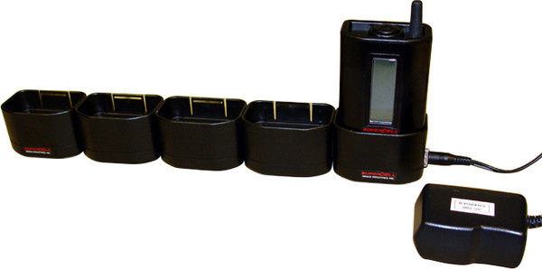 SC500MBC-5-AC: SC500 Battery Charger Multiple Unit 1-5 with Charger Base and AC Power Adapter