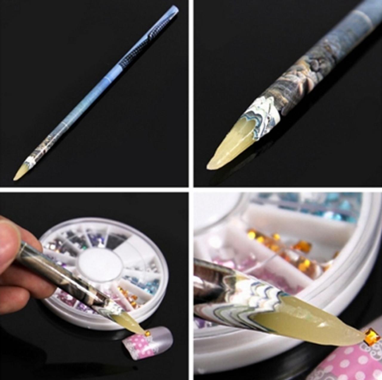 1 pc Wax Rhinestone Picker Pencil