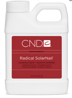 CND Radical SolarNail Sculpting Liquid 16oz