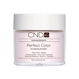 CND - PERFECT COLOR SCULPTING POWDERS - PURE PINK - SHEER 3.7 Oz. / 104 g