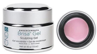 CND Brisa Gel Warm Pink Opaque 1.5oz