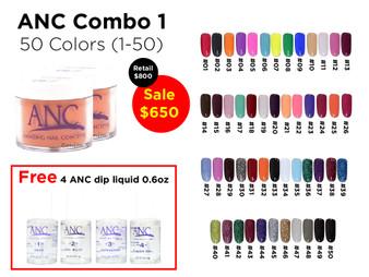ANC Combo 50 colors 1 (1-50)