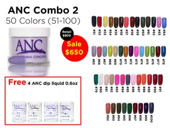 ANC Combo 50 colors 2 (51-100)