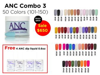ANC Combo 50 colors 3 (101-150)