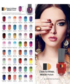 Dare To Ware Lechat Mood Nail Polish Full 60 Colors