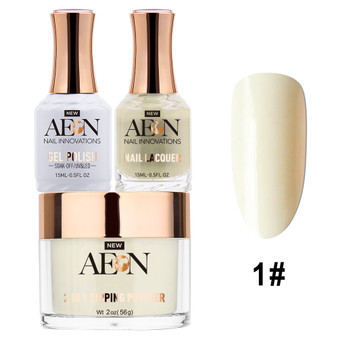Aeon 3 in 1 - Arctic White #001