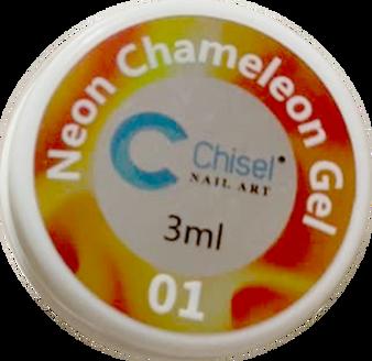Chisel Painting Neon Chameleon Gel #1 (Red)