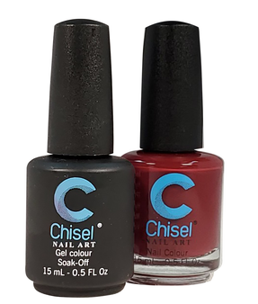 Chisel Matching Gel + Lacquer 0.5oz - Solid 2