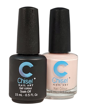 Chisel Matching Gel + Lacquer 0.5oz - Solid 12