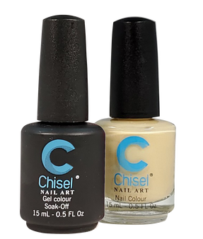 Chisel Matching Gel + Lacquer 0.5oz - Solid 100