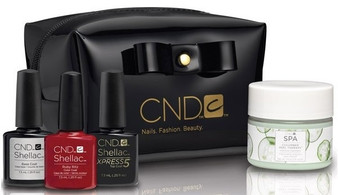 "CND SHELLAC ""LITTLE BLACK BAG"" – LIMITED EDITION"