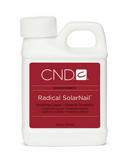 CND Radical SolarNail Sculpting Liquid 8oz