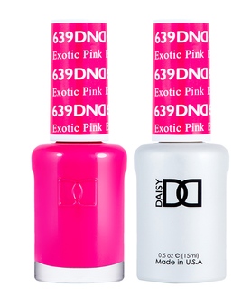 DND Duo Gel  #639 EXOTIC PINK