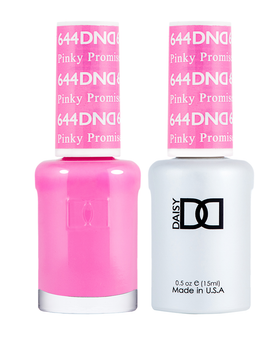 DND Duo Gel  #644 PINKIE PROMISE
