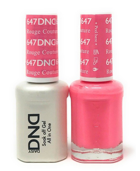 DND Duo Gel  #647 ROUGE COUTURE