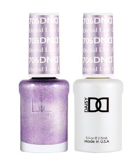 DND Duo Gel  #706 ORCHID LUST