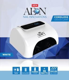 Aeon Cordless UV Led Lamp - White Color
