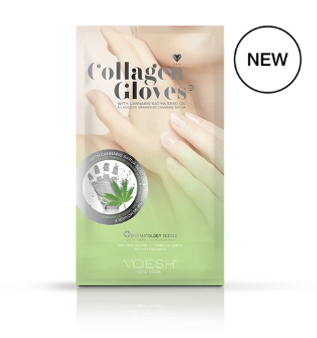 Collagen Gloves with Cannabis Seed Oil