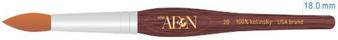 Aeon Kolinsky Acrylic Nail Brush (Round) #20