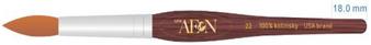 Aeon Kolinsky Acrylic Nail Brush (Round) #22