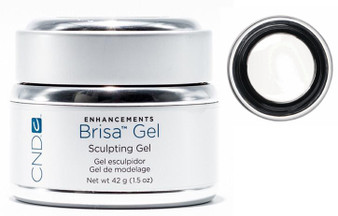 CND Brisa Gel Pure White Opaque 1.5oz