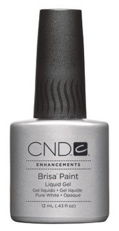 CND Brisa Paint Pure White Opaque 0.43oz