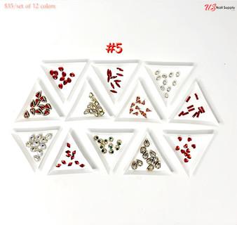 Charm Nail Art Design Set #5