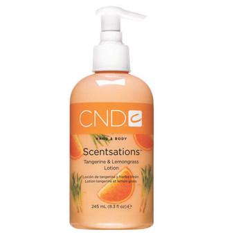 CND Hand & Body Lotion Tangerine & Lemongrass 8.3oz