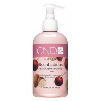 CND Hand & Body Lotion Black Cherry & Nutmeg 8.3oz