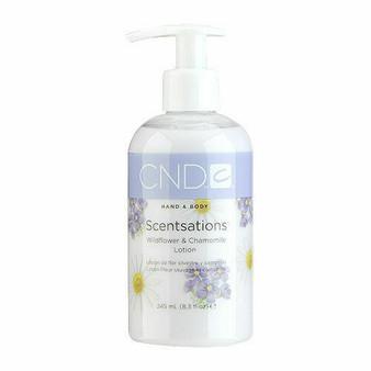 CND Hand & Body Lotion Wildflower & Chamomile 8.3oz