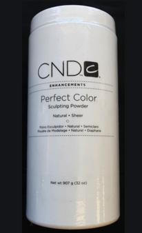 CND Perfect Color Sculpting Powder Natural Sheer 32oz