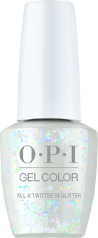 Opi Gel Color All A'twitter in Glitter HPM13