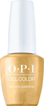 Opi Gel ColorThis Gold Sleighs Me HPM05
