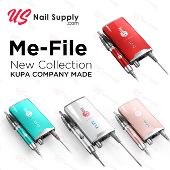 Kupa Me-File Portable Nail Drill Machine With Me-File Handpiece And Cradle