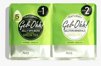 Avry Beauty Jelly Spa Bath - Green Tea