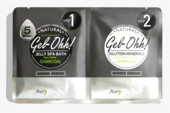 Avry Beauty Jelly Spa Bath - CharCoal