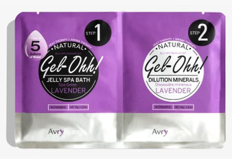 Avry Beauty Jelly Spa Bath - Lavender