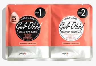 Avry Beauty Jelly Spa Bath - Sweet Citrus
