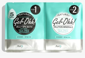 Avry Beauty Jelly Spa Bath - Tea Tree Peppermint