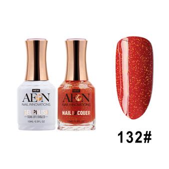 AEON Gel Polish & Nail Lacquer #132 Top Notch Vino