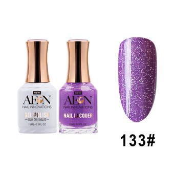 AEON Gel Polish & Nail Lacquer #133 Purple Urkel