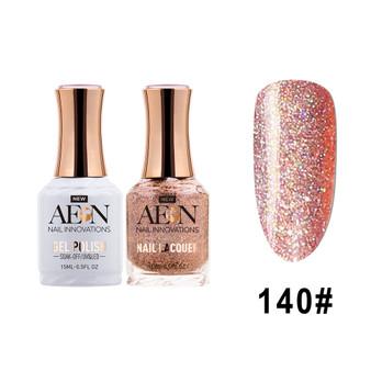 AEON Gel Polish & Nail Lacquer #140 Disco Uriel