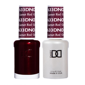 DND DUO GEL - Garnet Red #633