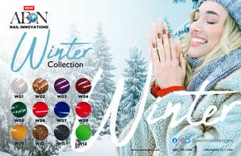 Aeon 3in1 Winter Collection ( Set of 12 Colors )