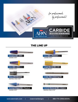 AEON Elite carbide Kit (8pcs)