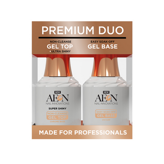 Aeon Gel Top & Base Duo 0.5oz