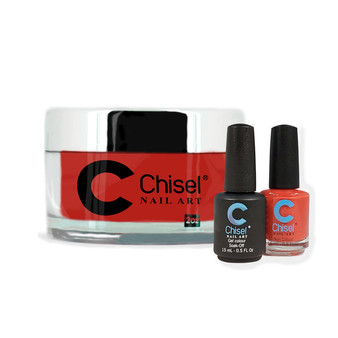 CHISEL COMBO 3 IN 1: DIP + GEL + LACQUER - SOLID 3